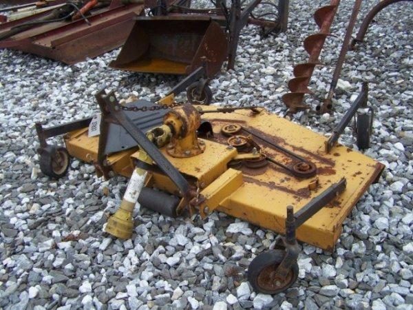 1017: King Kutter 6' 3pt Finish Mower for Tractors