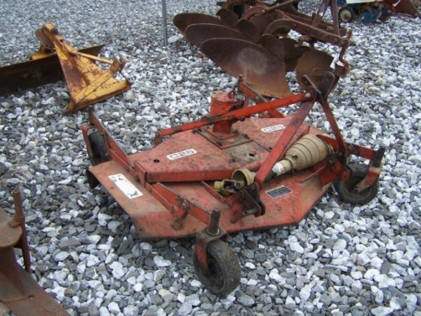 """1025: Befco C25 3pt 60"""" Finish Mower for Tractors - 2"""