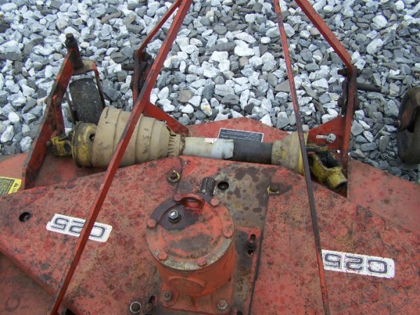 """1025: Befco C25 3pt 60"""" Finish Mower for Tractors - 4"""