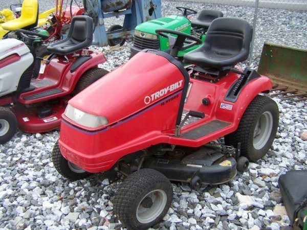 1058: Troy Bilt 16 HP Lawn and Garden Tractor - 2