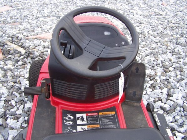 1058: Troy Bilt 16 HP Lawn and Garden Tractor - 4
