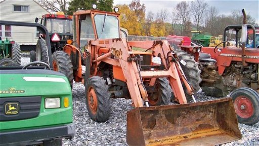 1115: Kubota M4030DT 4x4 Tractor With Loader Sims Cab