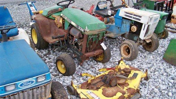 1031: John Deere 332 Diesel Lawn and Garden Tractor
