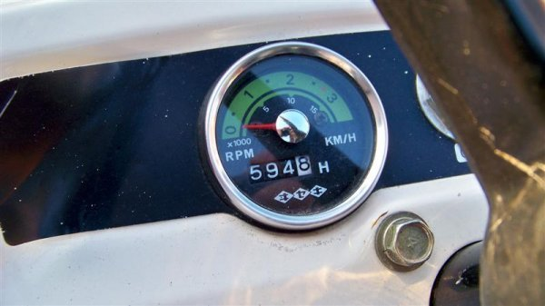 1382A: Bolens 1704 Hydro Compact Tractor, Diesel - 9