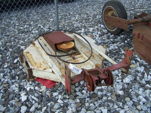 """1014A: Sunmaster 18"""" Rotary Belly Mower for Tractors"""