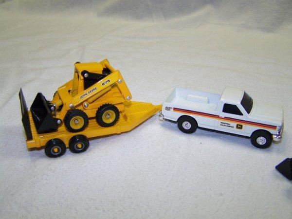 5: John Deere Mini Toy Truck Skid Steer & Skidder - 2
