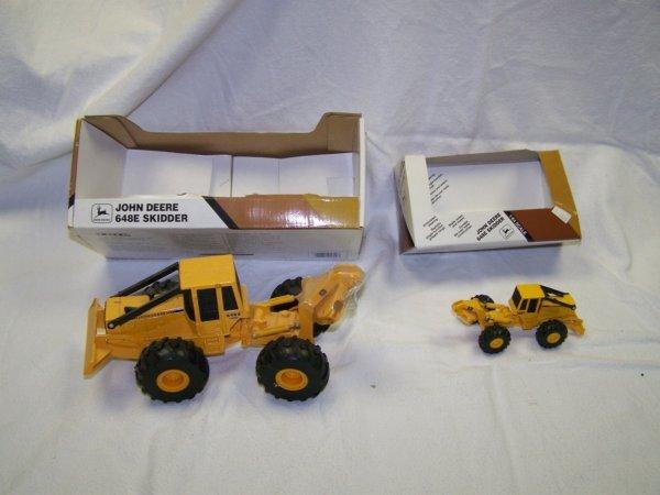 5: John Deere Mini Toy Truck Skid Steer & Skidder - 4