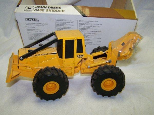 5: John Deere Mini Toy Truck Skid Steer & Skidder - 6