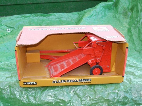 7: 50th Anniversary Allis Chalmers Baler Tractor Toy
