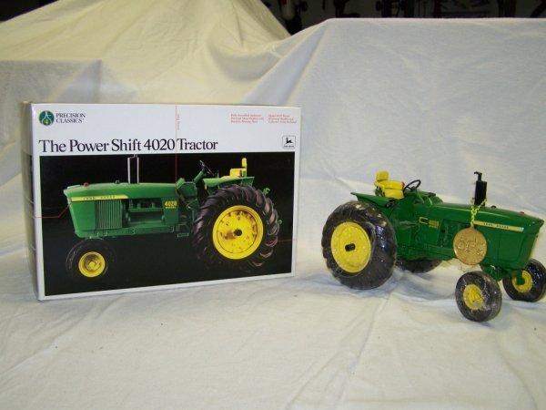 24: Ertl Precision Series 4 John Deere 4020 Toy Tractor