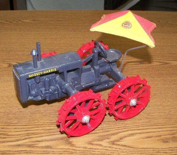 256: Massey Harris GP 4x4 Tractor Toy with Umbrella