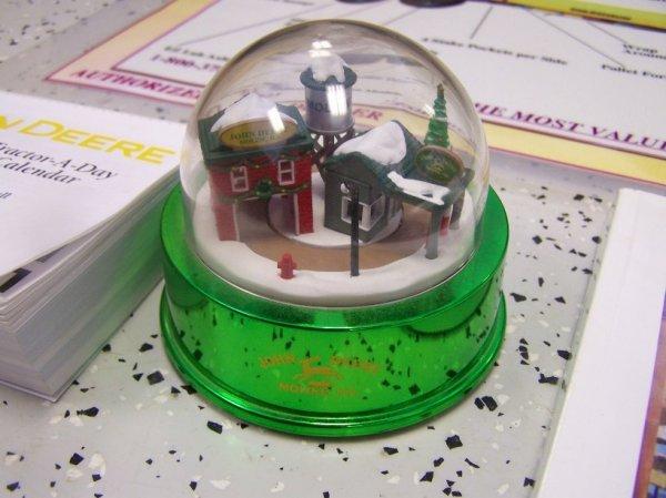 386: John Deere Calendars, Snow Globe and Book - 2