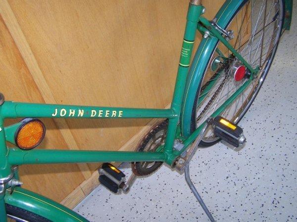 276: John Deere 3 Speed Girls Bike - 2