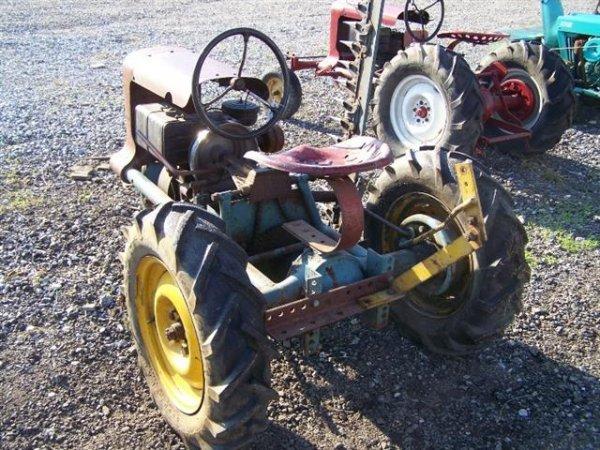 2140: Rare Copar Panzer Tricycle Lawn & Garden Tractor - 2