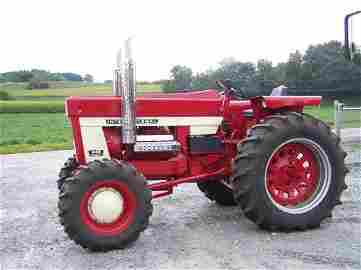 2206: International 1468 4x4 Farm Tractor Restored