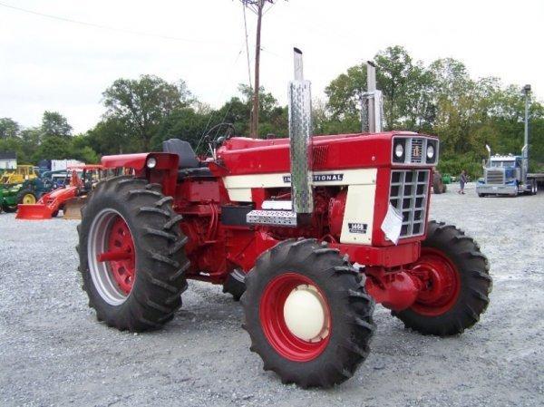 Restored Ih Tractors : International farm tractor restored lot