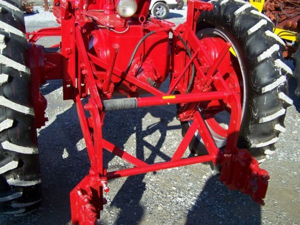 2228: Farmall Super MV Hi-Crop Restored Antique Tractor - 5