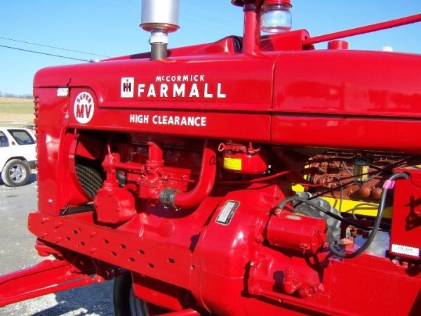 2228: Farmall Super MV Hi-Crop Restored Antique Tractor - 8