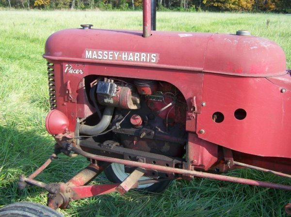 2236: Massey Harris Pacer Antique Tractor Original - 6