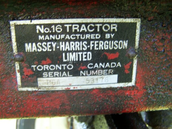 2236: Massey Harris Pacer Antique Tractor Original - 8