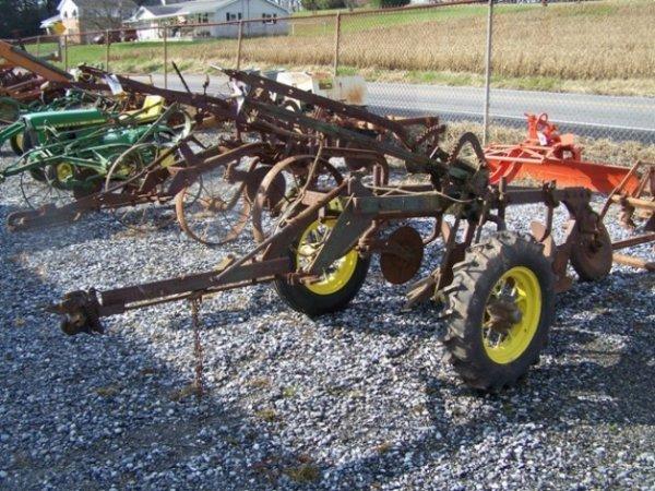 2059: John Deere Antique No44 2x Plow for Tractors