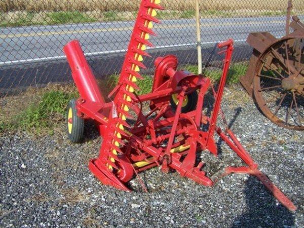 2087: Massey Harris 7' Sickle Bar Mower for Tractors - 2