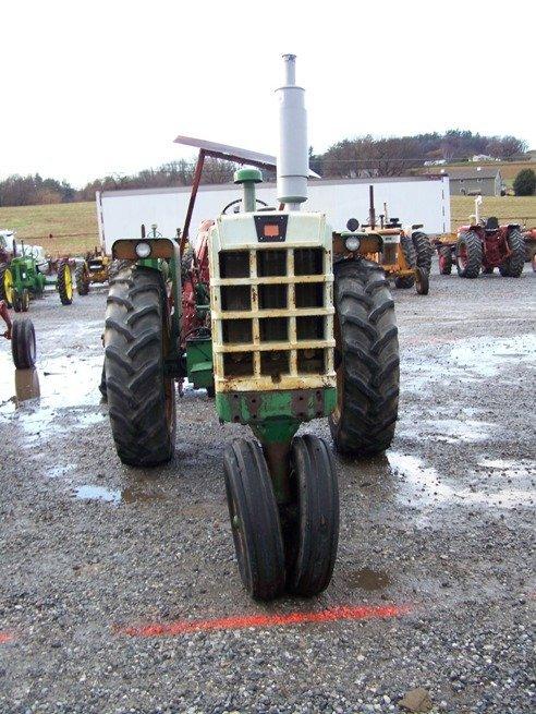 2319: Oliver 1650 Diesel Antique Farm Tractor - 2