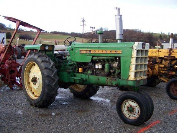 2319: Oliver 1650 Diesel Antique Farm Tractor - 3