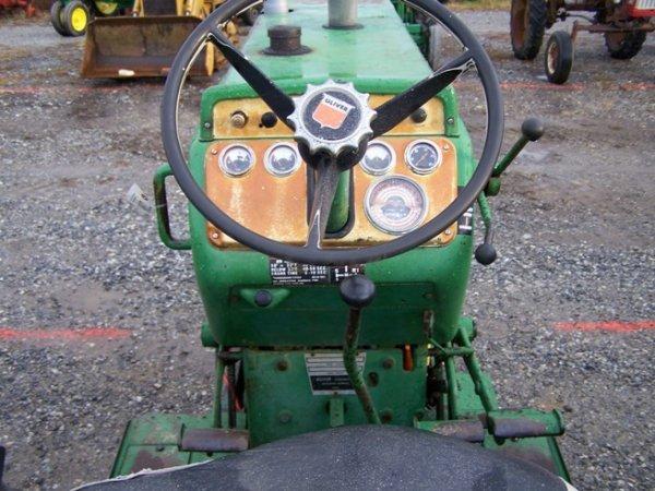 2319: Oliver 1650 Diesel Antique Farm Tractor - 6