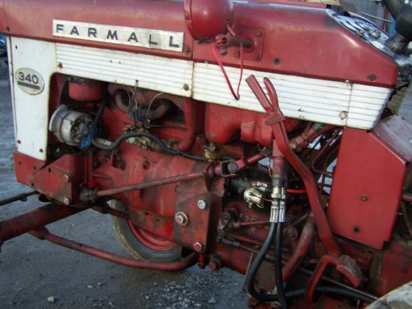 2303: IH Farmall 340 Wide Front Tractor - 7