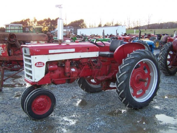 2303A: International Farmall 240 Narrow Front Tractor
