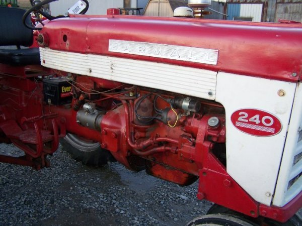 2303A: International Farmall 240 Narrow Front Tractor - 8