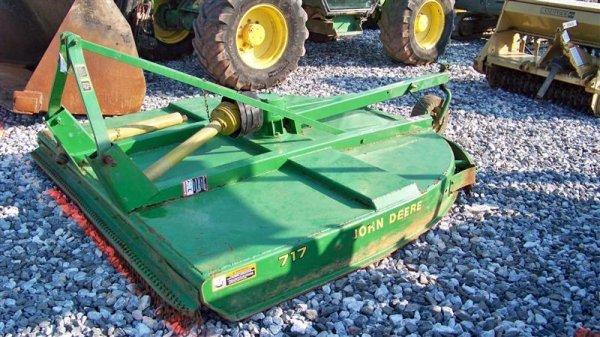 4136: John Deere 717 7' 3PT Rotary Mower for Tractors - 2