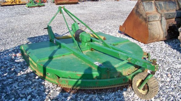 4136: John Deere 717 7' 3PT Rotary Mower for Tractors - 4
