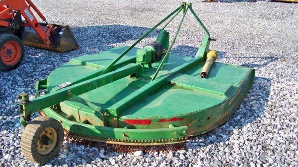 4136: John Deere 717 7' 3PT Rotary Mower for Tractors - 5
