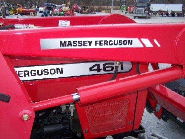4175: Massey Ferguson 461 Tractor with Loader Backhoe - 4