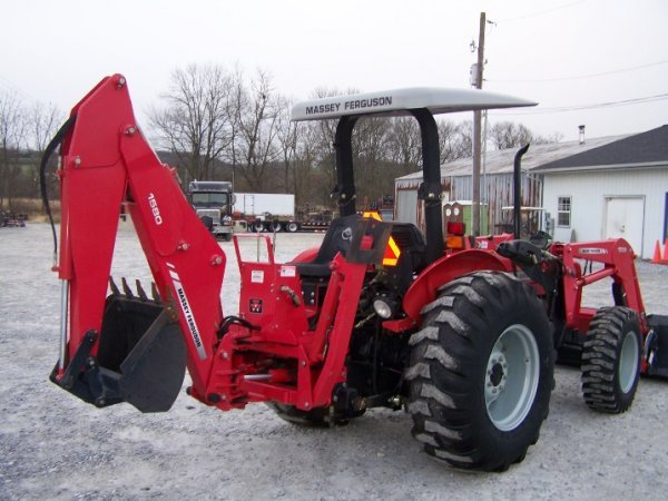 4175: Massey Ferguson 461 Tractor with Loader Backhoe - 5