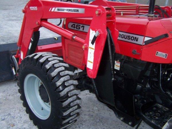 4175: Massey Ferguson 461 Tractor with Loader Backhoe - 7