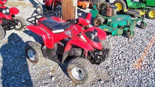 4201: Unused Bush Hog 50CC Youth ATV Utility Vehicle - 2