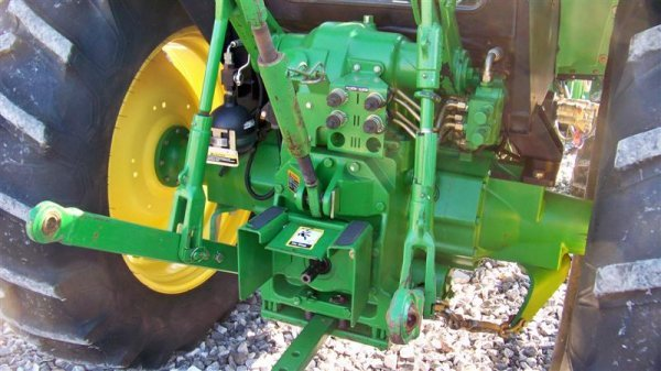 4262: John Deere 6603 4x4 Tractor with Cab and Loader,  - 5