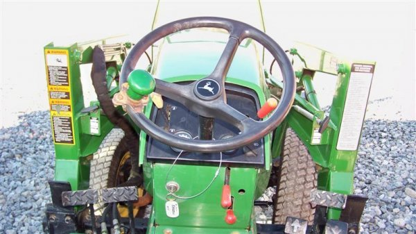 4344: John Deere 955 4x4 Compact Tractor with Loader - 6