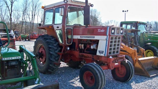 4345: International 1066 with Year Round Cab, Duals