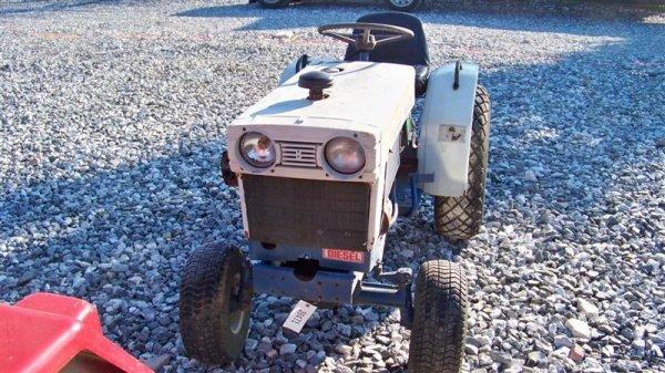 4123: Mitsubishi MT372 Compact Tractor - 3