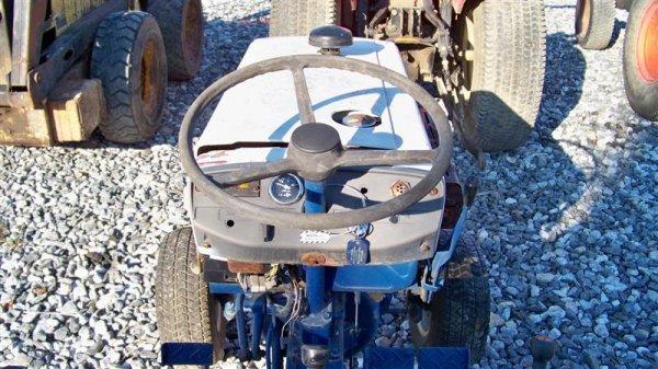 4123: Mitsubishi MT372 Compact Tractor - 6