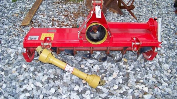"4005: Unused Palladino 58"" 3PT Tiller For Tractors"