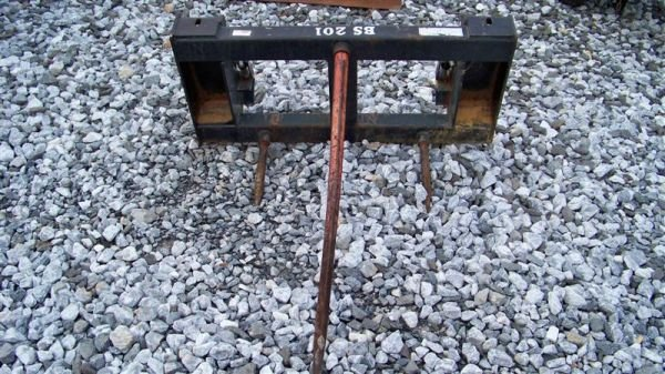 4019: Bale Spear for Tractors with Bush Hog Loaders - 2