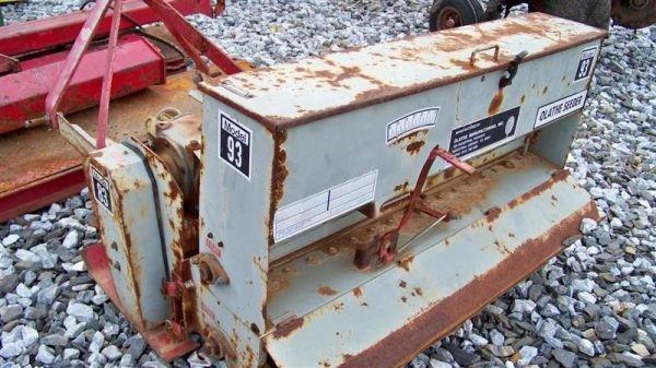 "4023: Olathe 50"" 3pt Aerator Overseeder for Tractors - 4"