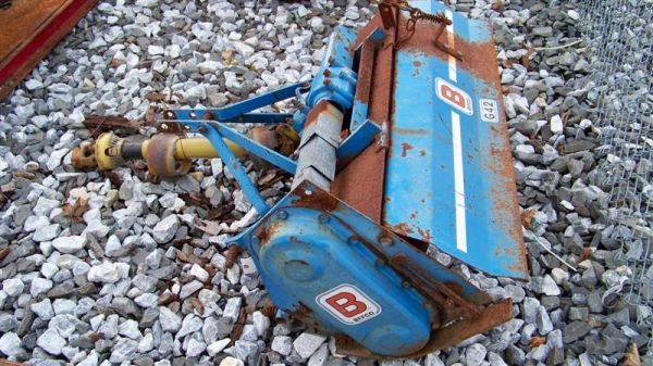 """4024: Befco 42"""" 3pt Roto Tiller for Compact Tractors - 3"""