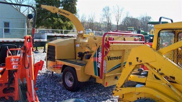 4267: Vermeer BC 1000 Chipper Cummins Diesel - 3