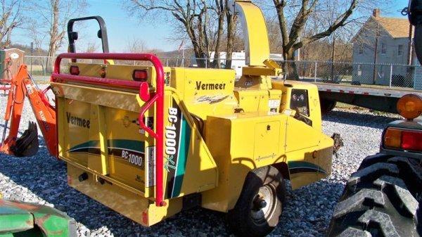 4267: Vermeer BC 1000 Chipper Cummins Diesel - 4
